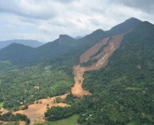 The Aranayake landslide in Sri Lanka