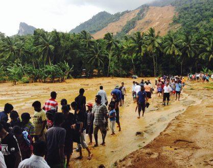 Aranayake landslides